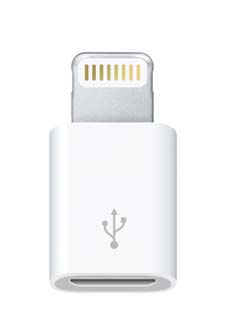 Micro USB-адаптер для Lighting iPhone 5