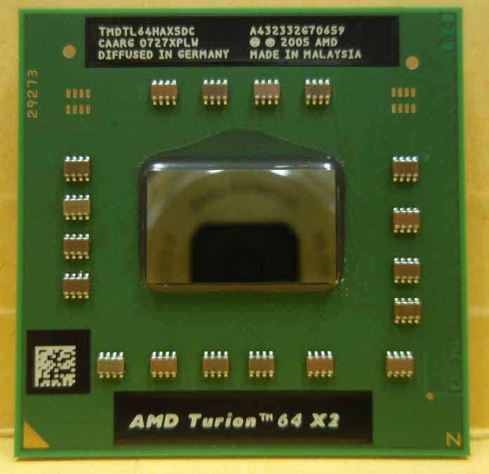Процессор AMD Turion 64 X2 Mobile technology TL-64 - TMDTL64HAX5DC