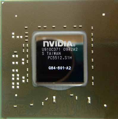 Видеочип nVidia GeForce 8600M GT, G84-601-A2