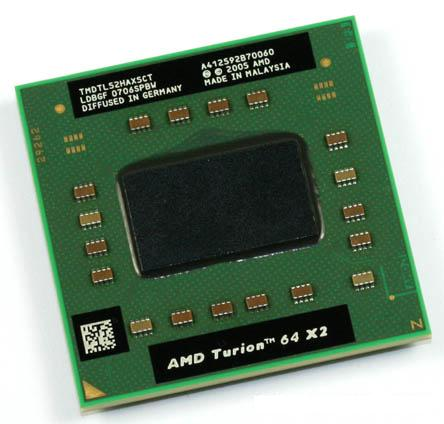 Процессор AMD Turion 64 X2 Mobile technology TL-52 - TMDTL52HAX5CT (TMDTL52CTWOF)